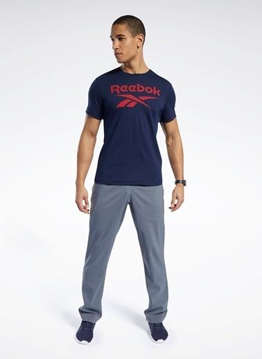 Reebok Reebok Fp9151 Rı Big Logo Tee T-Shirt Lacivert